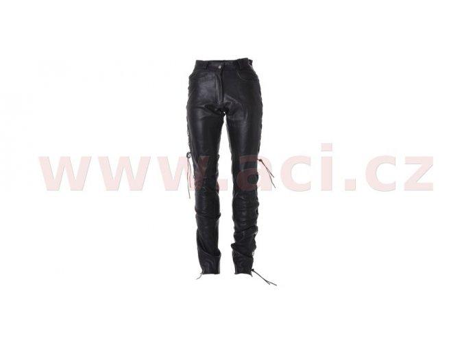 kalhoty kožené šněrovací, ROLEFF - Německo, dámské