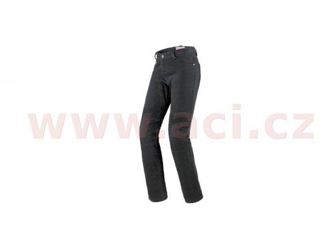 kalhoty, jeansy FURIOUS LADY, SPIDI - Itálie, dámské (černé)
