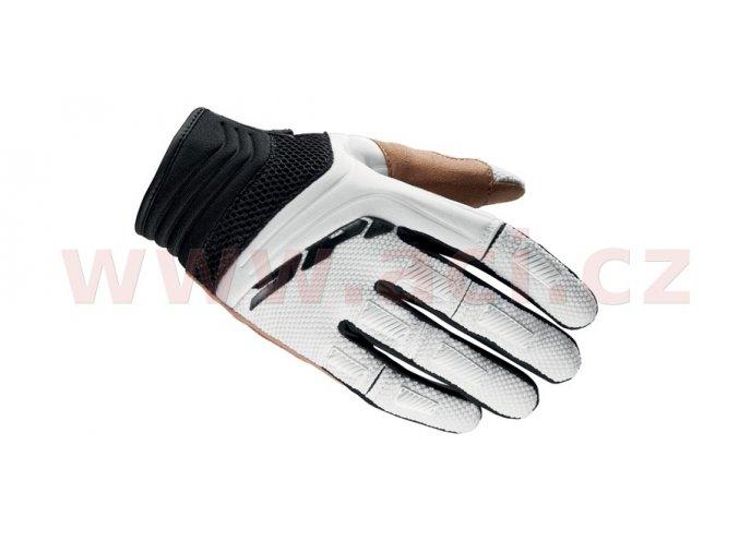 rukavice MEGA-X, SPIDI - Itálie (černé/bílé)