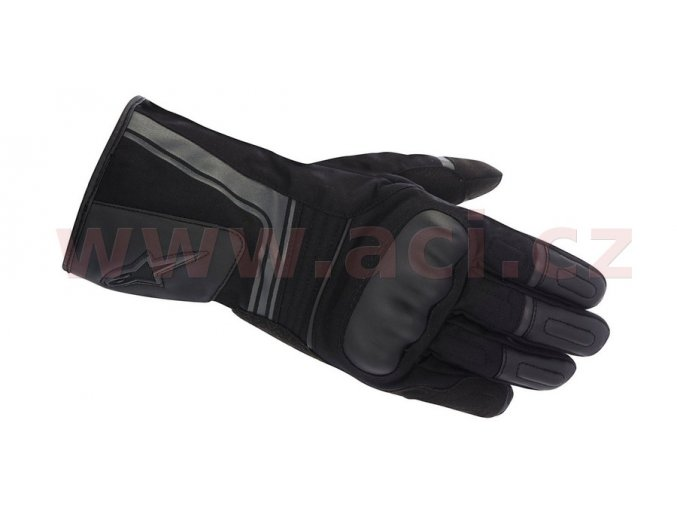 rukavice Santiago Drystar, ALPINESTARS - Itálie (černé)