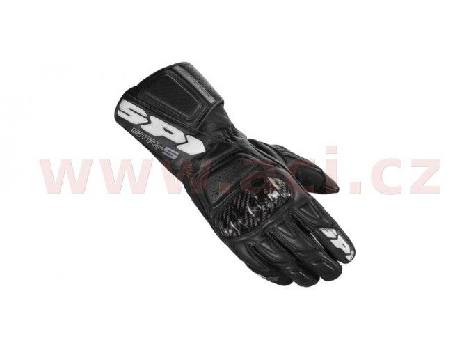 rukavice STR5, SPIDI - Itálie (černé)