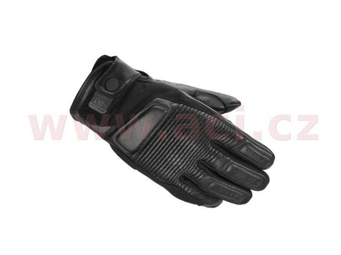 rukavice GARAGE, SPIDI - Itálie (černé)