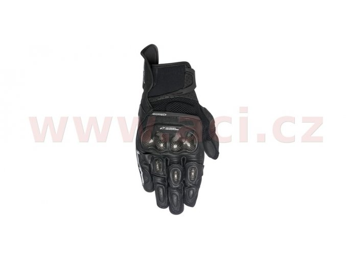 rukavice SP X AIR CARBON, ALPINESTARS - Itálie (černé)