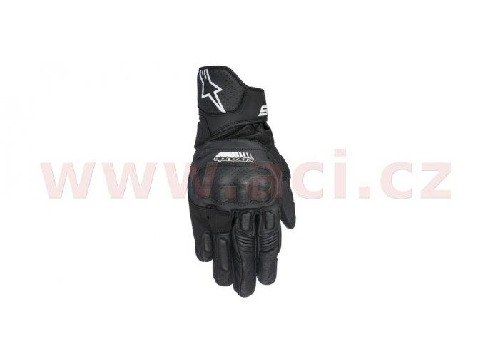 rukavice SP-5, ALPINESTARS - Itálie (černé)