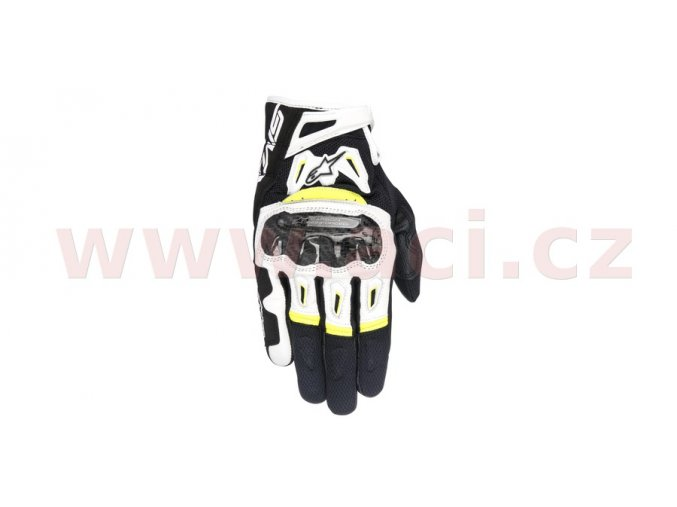rukavice SMX-2 AIR CARBON 2017, ALPINESTARS - Itálie (černé/bílé/žluté fluo)