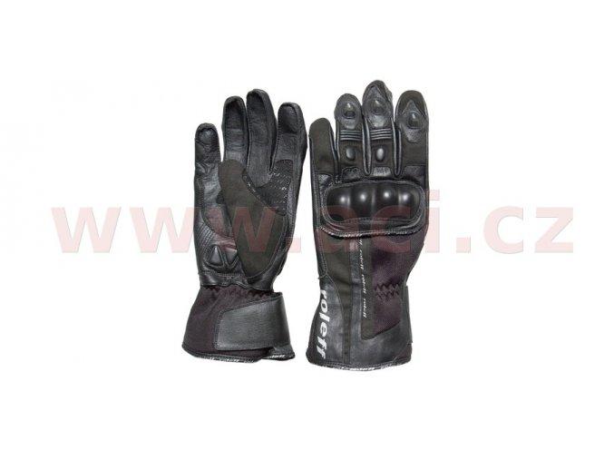 rukavice Passau, ROLEFF - Německo (černé)