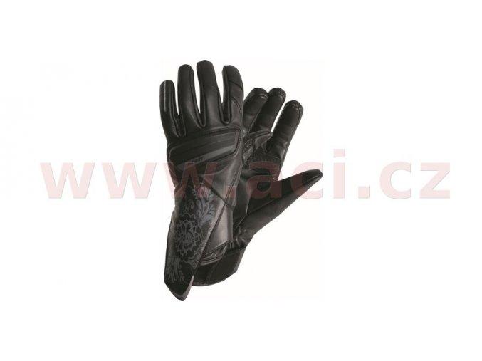 rukavice Stuttgart, ROLEFF - Německo, dámské (černé)