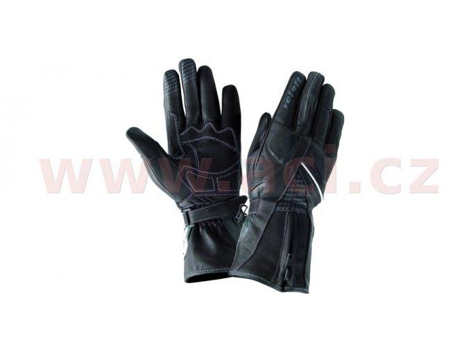 rukavice Mannheim, ROLEFF - Německo, dámské (černé)