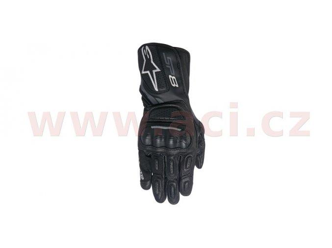 rukavice STELLA SP-8 2017, ALPINESTARS - Itálie, dámské (černé/šedé)