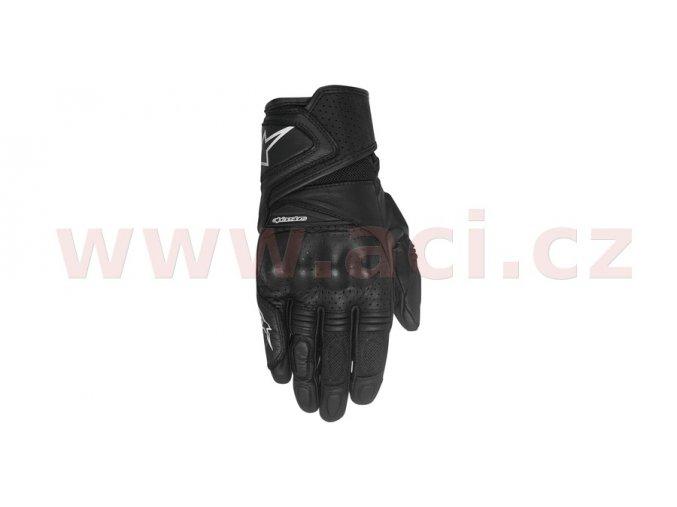 rukavice STELLA BAIKA, ALPINESTARS - Itálie, dámské (černé)