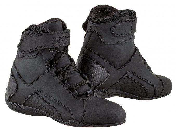 boty Velcro, KORE (černé)