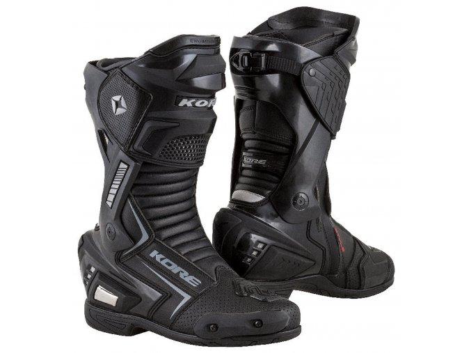 boty Sport, KORE (černé)