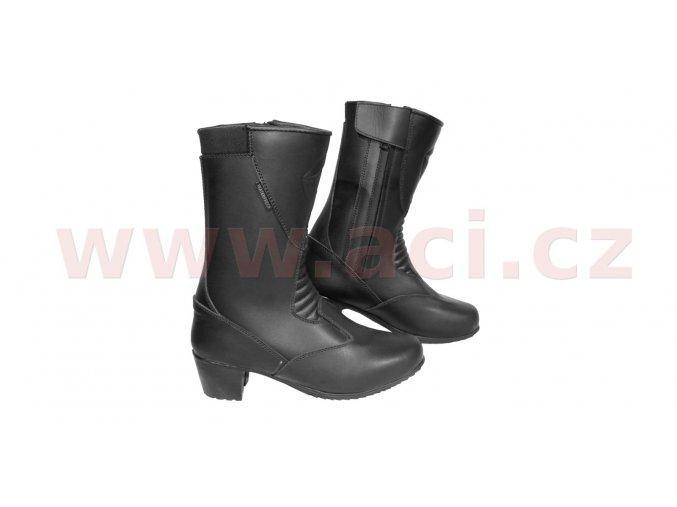 boty Tacco Touring lady, KORE, dámské (černé)