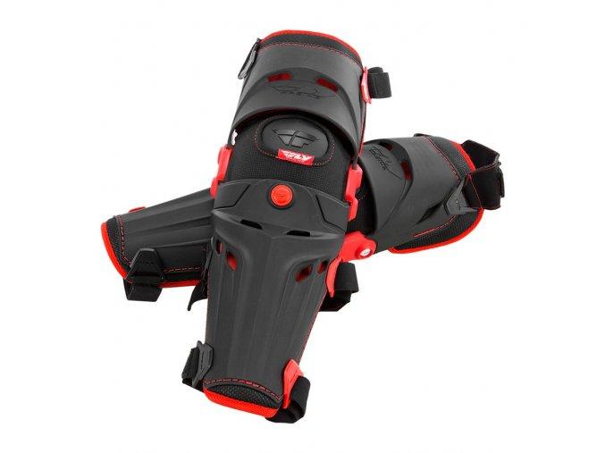 chrániče kolen 5 Pivot, FLY RACING - USA (černá/červená, pár)