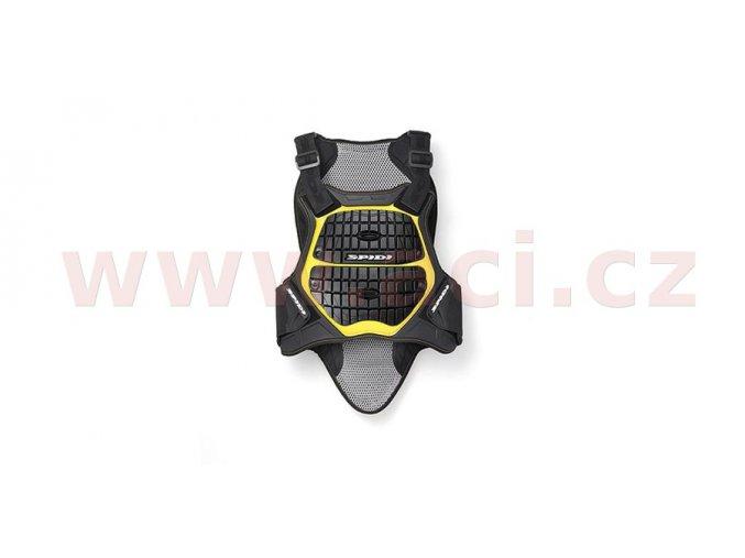 chránič těla DEFENDER BACK AND CHEST 180/195, SPIDI - Itálie (černý/žlutý)