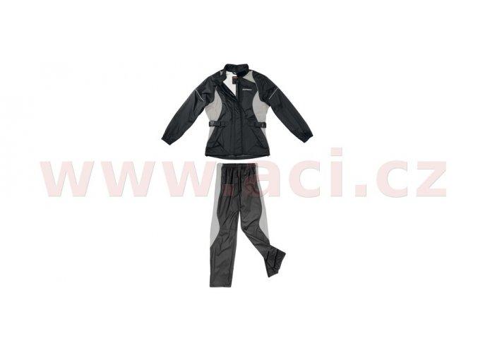 pláštěnka SIRENA LADY, SPIDI - Itálie, dámská (černá/šedá)