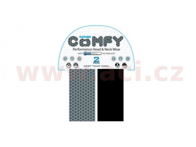 nákrčníky Comfy Honeycomb Coolmax®, OXFORD - Anglie (sada 2ks)