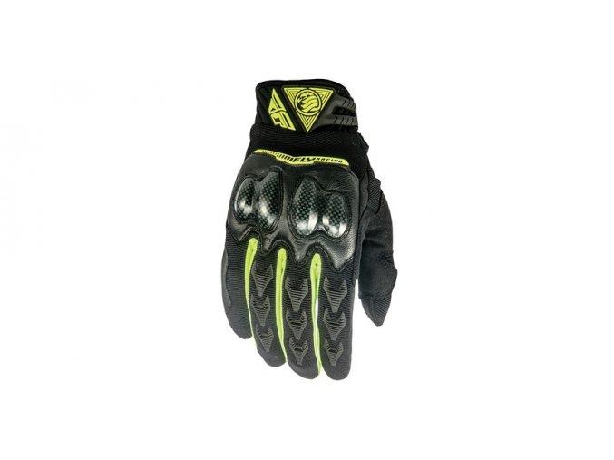 rukavice FLY Patrol XC - FLY RACING - USA (černá/žlutá fluo)