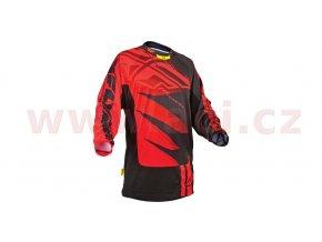 dres Inversion, FLY RACING - USA (černá/červená) vel. 2XL