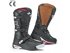 Dětské moto boty TCX COMP KID černé