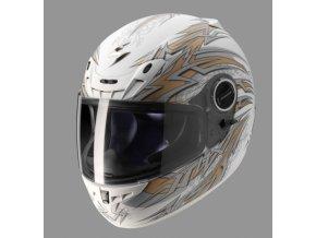 Moto přilba SCORPION EXO-450 REBEL bílá matná