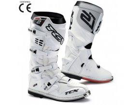 Moto boty TCX PRO 2.1 bílé 40
