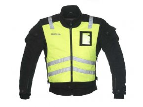 Reflexní moto vesta RICHA SLEEVELESS SAFETY Fluo