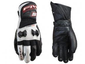 Moto rukavice FIVE RFX NEW AIR černo/bílé