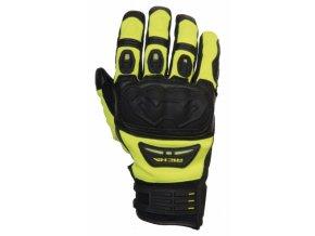Moto rukavice RICHA EVOLUTION fluo žluté