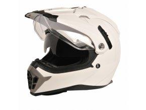 Moto přilba RICHA X-ROAD bílá
