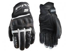Moto rukavice FIVE X-RIDER černo/bílé M