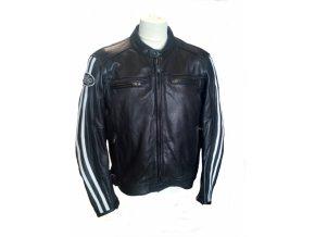 Moto bunda RICHA RETRO RACING černá kožená