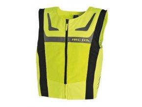 Reflexní vesta RICHA SAFETY MESH žlutá fluo