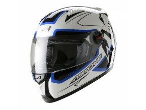 Moto přilba ASTONE GT SCORPIO bílo/modrá