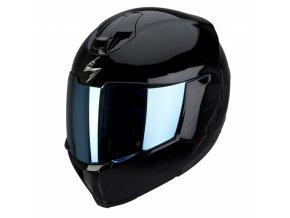 Moto přilba SCORPION EXO-910 AIR černá lesk