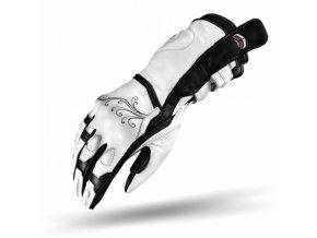 Dámské moto rukavice SHIMA MODENA bílé