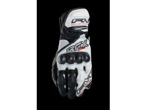Moto rukavice FIVE RFX2 bílo/černé 3XL