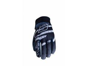 Moto rukavice FIVE PLANET FASHION logo modré