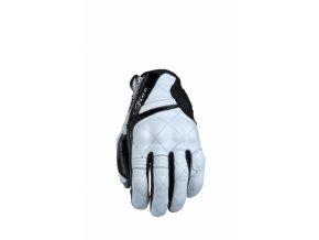 Dámské moto rukavice FIVE SPORT CITY woman černo/bílé