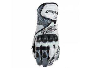 Moto rukavice FIVE RFX2 bílo/šedé
