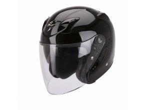 Moto přilba SCORPION EXO-220 solid černá