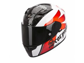 Moto přilba SCORPION EXO-710 AIR KNIGHT bílo/červená