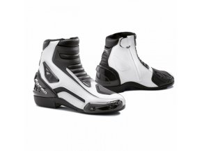 Moto boty FORMA AXEL černo/bílé 46