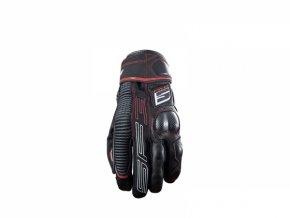 Moto rukavice FIVE SF3 černo/červené