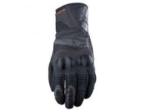 Moto rukavice FIVE WFX 2 WP černo/červené