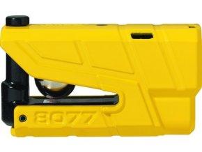 Zámek na moto ABUS 8077 GRANIT X-PLUS žlutý UNI