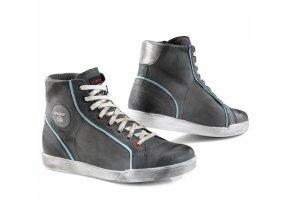Dámské moto boty TCX X-STREET šedo/modré