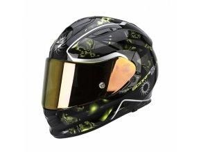 Moto přilba SCORPION EXO-510 AIR XENA černo/neonově žlutá
