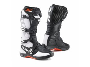 Moto boty TCX X-HELIUM MICHELIN® bílé