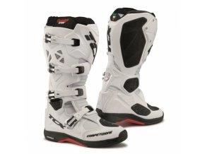 Moto boty TCX COMP EVO MICHELIN® bílé